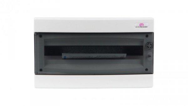 Rozdzielnica modułowa 1x18 podtynkowa /transparentna/ IP40 ECM18PT-S DIDO 001101074