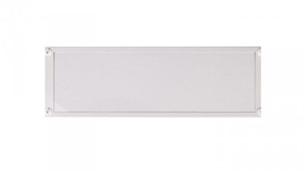 Osłona metalowa z plastikowym wypełnieniem 1000x300mm BPZ-FPP-1000/300-BL 134202