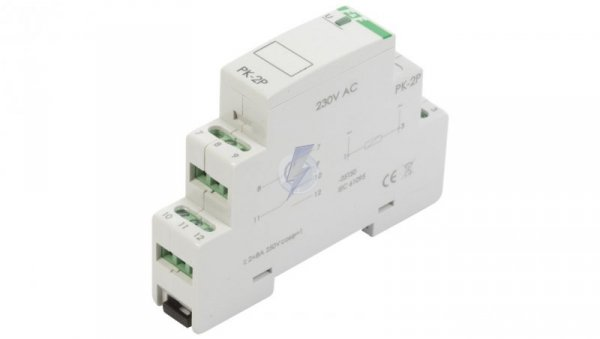 Przekaźnik elektromagnetyczny 2P 8A 230V AC PK-2P-230V