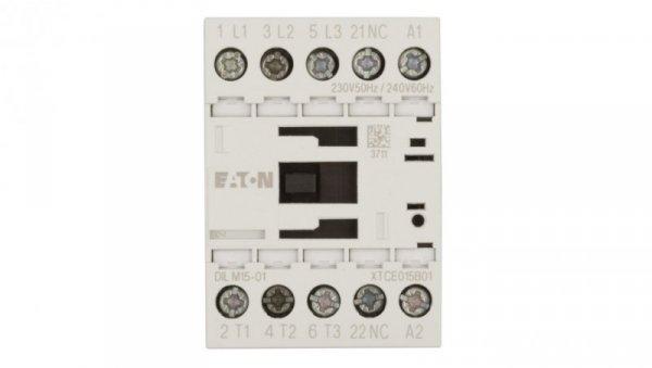 Stycznik mocy 15A 3P 230V AC 0Z 1R DILM15-01 (230V50HZ,240V60HZ) 290093