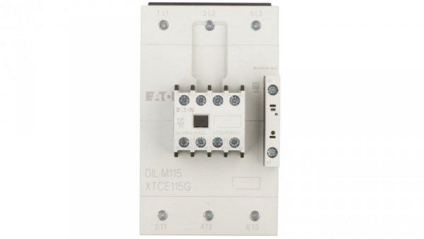 Stycznik mocy 115A 3P 190-240V AC 2Z 2R DILM115-22 (RAC240) 239578