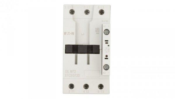 Stycznik mocy 72A 3P 24-27V DC 0Z 0R DILM72(RDC24) 107671