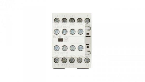 Stycznik mocy 7A 3P 230V AC 2Z 2R DILM7-22(230V50HZ,240V60HZ) 106360