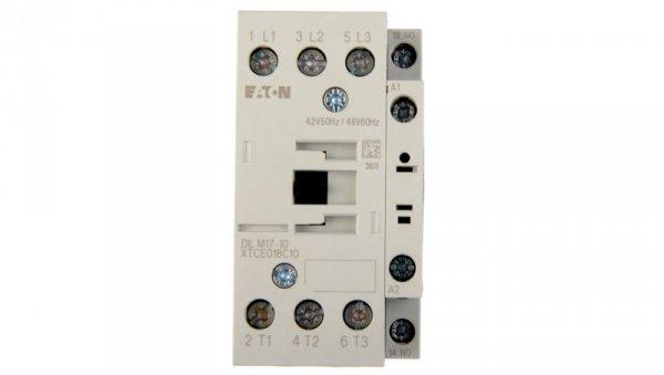 Stycznik mocy 17A 3P 42V AC 1Z 0R DILM17-10(42V50HZ,48V60HZ) 277000
