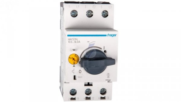 Wyłącznik silnikowy 3P 7,5kW 10-16A MM511N