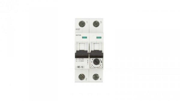 Wyłącznik silnikowy 2P 4kW 6,3-10A Z-MS-10/2 248398