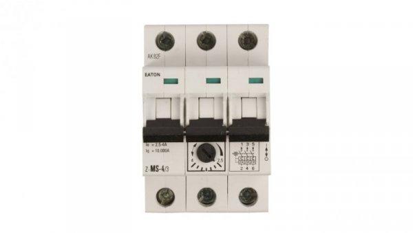 Wyłącznik silnikowy 3P 1,5kW 2,5-4A Z-MS-4,0/3 248409
