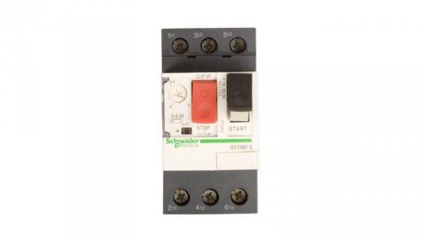 Wyłącznik silnikowy 3P 2,2kW 4-6,3A GV2ME10