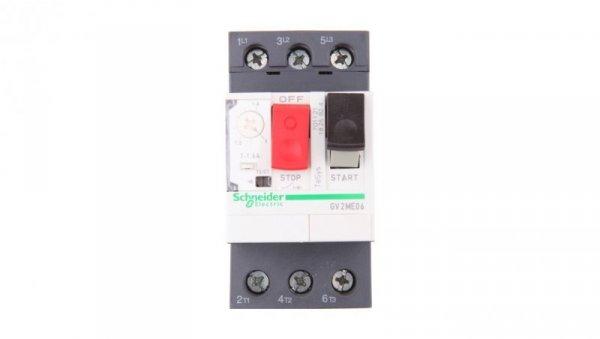 Wyłącznik silnikowy 3P 0,55kW 1-1,6A GV2ME06