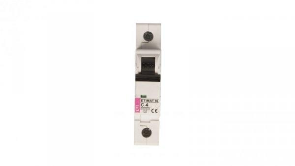 Wyłącznik nadprądowy 1P C 4A 10kA AC ETIMAT10 002131710