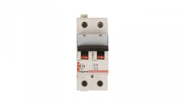 Wyłącznik nadprądowy 2P B 10A 10kA AC S312 TX3 404110