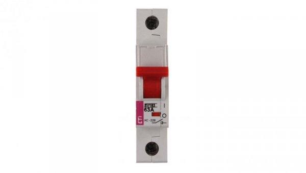 Rozłącznik modułowy 63A 1P 230/400V SV 163 002423114
