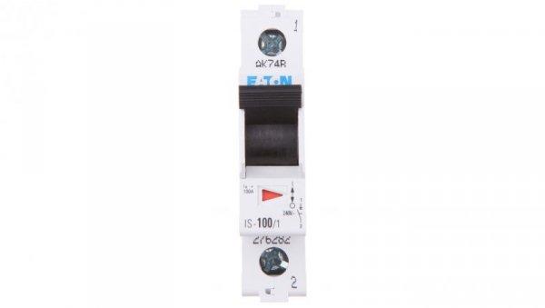 Rozłącznik modułowy 100A 1P IS-100/1 276282