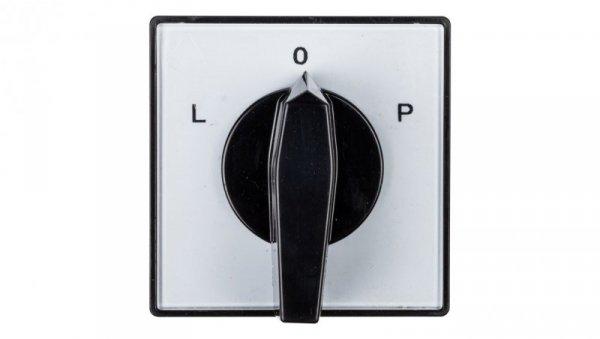 Łącznik krzywkowy L-0-P 3P 16A do wbudowania 4G16-11-U 63-840307-021