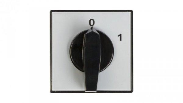 Łącznik krzywkowy 0-1 3P 63A do wbudowania 4G63-10-U 63-840304-051