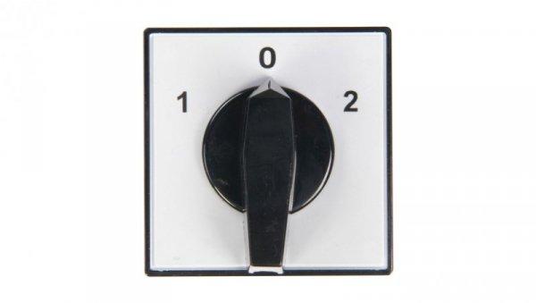 Łącznik krzywkowy 1-0-2 3P 80A do wbudowania 4G80-53-U 63-840343-061
