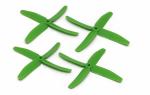 Dal Props  Quad-Blade 5x4x4 zielone (2CW+2CCW)