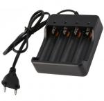 Ładowarka do akumulatorów Li-Ion - 4x18650 - 1200mA - 4,2V