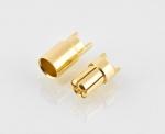 Para konektorów BANAN 6 MM (GOLDY)