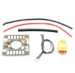 Czujnik Prądu z PDB do APM 2-6S BEC 5,3V 3A - dystrybucja prądu i miernik do APM - wtyk XT60