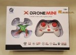 X DRON MINI Quadrocopter 2.4GHz