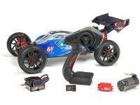 Arrma Typhon Buggy 6S BLX 1:8 4WD RTR niebiesko/czerwony