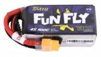 Akumulator LI-PO Tattu Funfly 1300mAh 14,8V 100C 4S1P XT60