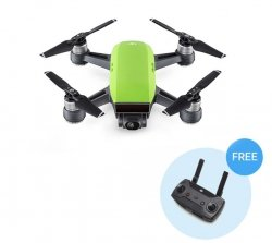DJI Spark Meadow Green + Aparatura