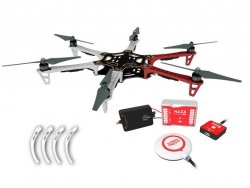 Dron Hexacopter DJI F550 + E420 2312E+ Naza-M Lite GPS
