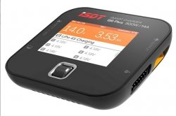 Ładowarka ISDT Q6 Plus 300W - 14A Mini - Life/ Lilon/ LiPo/ LiHv - kolor LCD