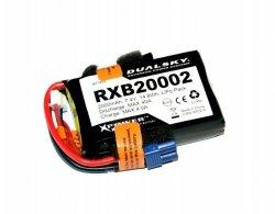 RXB 2000mAh 20C/2C 7.4V Voltage Meter