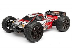 Trimmed and Painted Trophy Truggy Flux 2.4Ghz RTR Body