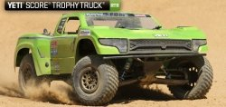 Model RC Axial Trophy Truck 4WD 1:10 RTR