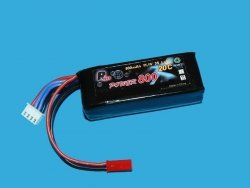 RMS - akumulator LiPo 11,1V 800mAh / 3S - 20C