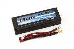 Redox RACING 6000 mAh 7,4V 35C - samochodowy pakiet LiPo