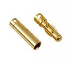 Para konektorów BANAN 3,5 MM (GOLDY)