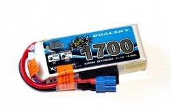 Akumulator Li-Po Dualsky 1700 mAh 35C/5C 11,1V