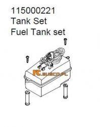 Fuel tank set - Ansmann Virus
