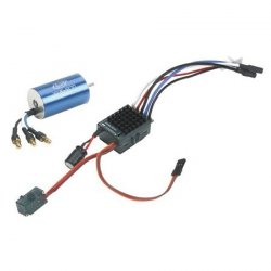 Silnik bezszczotkowy Xcelorin 1:18 7400obr/V + regulator