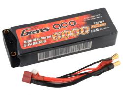 6000mAh 7.4V 70C HardCase Gens Ace