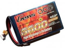 6600mAh 14.8V 35C Flat Pack Gens Ace