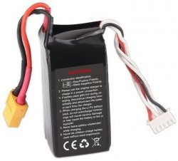 1300mAh 14.8V 60C LiPo do Furious 215-Z-26