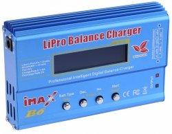 Ładowarka Imax B6 80W 6A + adaptery i sensor temp.