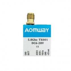 Aomway TX001A 25/200/600mW 5.8GHz 40CH AV TX