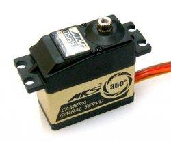 Serwo MKS DS6675 (Gimbalowy, Obrót 360+, Niskie luzy i gładka praca, 6V, 0.075s/60)