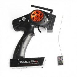Radio pistoletowe RC4GS 4CH 2.4GHz + R6FG