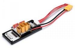 Adapter do ładowania równoległego 2x LiPo 6S XT60 XT90 do SkyRC PC1080