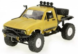 Ciężarówka WPL C14 1:16 4x4 2.4GHz RTR - Żółty