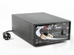 Zasilacz sieciowy Power X-40 (13,8V / 40A) - Rc System