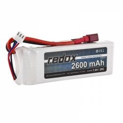 Redox 2600 mAh 7,4V 20C - pakiet LiPo